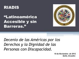 Instrumentos del Sistema Interamericano de la OEA para la