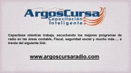 www.argoscursaradio.com
