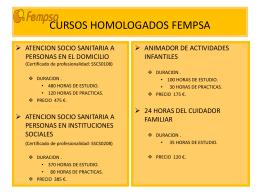 ACCION FORMATIVA ATENCION SOCIO SANITARIA A …