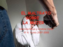 EL MALTRATO DE LA MUJER - INTEF