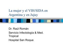 VIH/SIDA en Argentina y en Jujuy