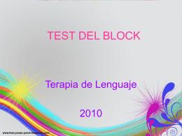 Test bloc