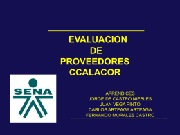 Diapositiva 1 - CONSORCIOCALACOR