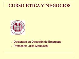 CURSO ETICA Y NEGOCIOS - UCEMA | Universidad del CEMA