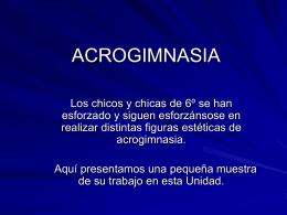 ACROGIMNASIA