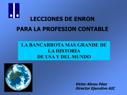 CASO ENRON PowerPoint