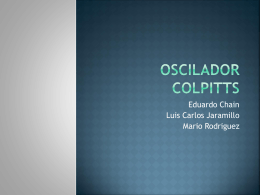 Oscilador Colpitts - electronicaIII-01