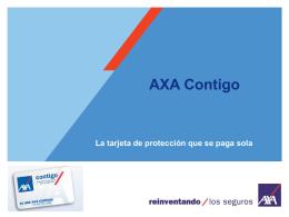 AXA Contigo - SIGORTA: Asesores Especializados
