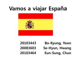 Vamos a viajar a Espaňa