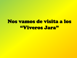 """Nos vamos de visita a los """"Viveros Jara"""""""