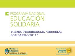 PROGRAMA ESCUELA Y COMUNIDAD
