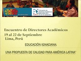 Escuelas de calidad - RAUCI - Red Argentino Uruguaya de