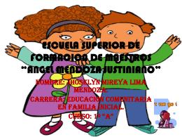 ESCUELA SUPERIOR DE FORMACION DE MAESTROS …