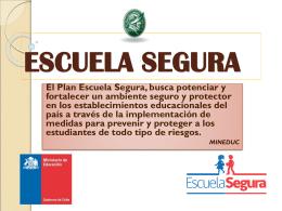 ESCUELA SEGURA - Colegios Pedro de Valdivia