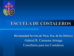 ESCUELA DE COSTALEROS