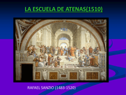 LA ESCUELA DE ATENAS - Ciencias Soci@les | Blog de Dto