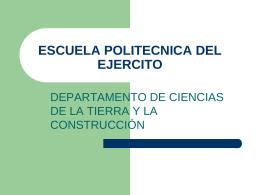 ESCUELA POLITECNICA DEL EJERCITO
