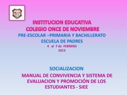 ESCUELA DE PADRES 2013