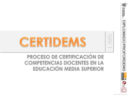 REGISTRO PROFORDEMS