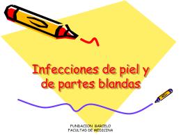 Infecciones de piel y de partes blandas - Pixelnet e