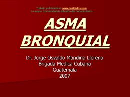 ASMA BRONQUIAL