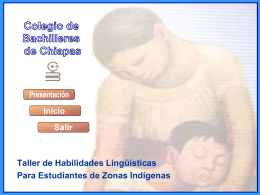 Diapositiva 1 - Colegio de Bachilleres de Chiapas