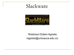 Slackware - Sitio Web de ieRed