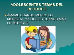 ADOLESCESNCIA