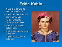 Frida Kahlo La pintora mexicana