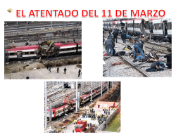 EL ATENTADO DEL 11 DE MARZO