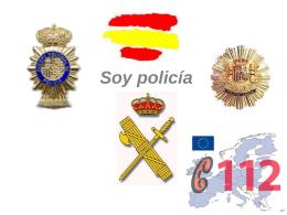 soy policia - Inici / Inicio