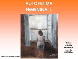 Autoestima femenina 2