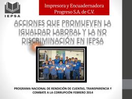 Impresora y Encuadernadora Progreso S.A. de C.V.