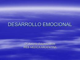 DESARROLLO EMOCIONAL - WEB MEDICA ARGENTINA