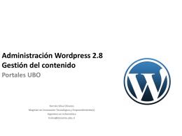Diapositiva 1 - UBO - Universidad Bernardo O'Higgins