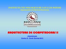 ARQUITECTURA DE COMPUTADORAS II