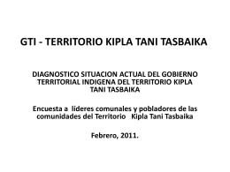 MINISTERIO DEL AMBIENTE Y LOS RECURSOS NATURALES …