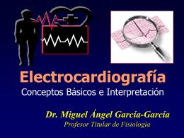 ELECTROCARDIOGRAMA ( EKG )