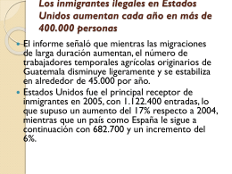 Entre frontera de los USA y Mexico