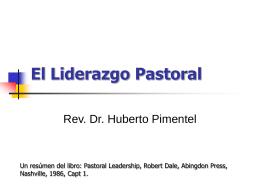 El Liderazgo Pastoral - Control Panel -