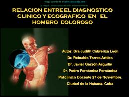 Evaluar la relacion entre el diagnostico clinico y