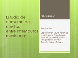 Estudio de consumo de medios entre internautas mexicanos