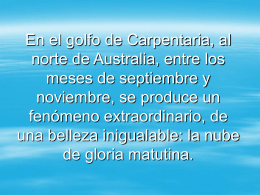 En el golfo de Carpentaria, al norte de Australia, entre