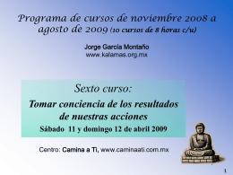 SEMINARIO II - Budismo libre y laico