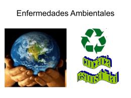 Enfermedades Ambientales - Todo Sobre el Medio Ambiente