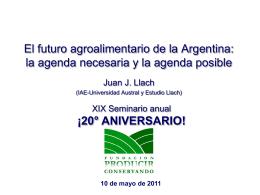 La Argentina de los bicentenarios Razones para un