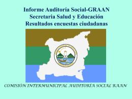 1er Informe A.S. GRAAN