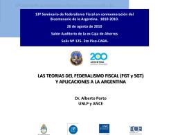 Seminario de Federalismo Fiscal - home