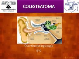colesteatoma - medicinagpoc | Facultad de Medicina UAEM