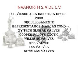 INVANORTH S.A DE C.V. CADEREYTA JIMENEZ NUEVO LEON